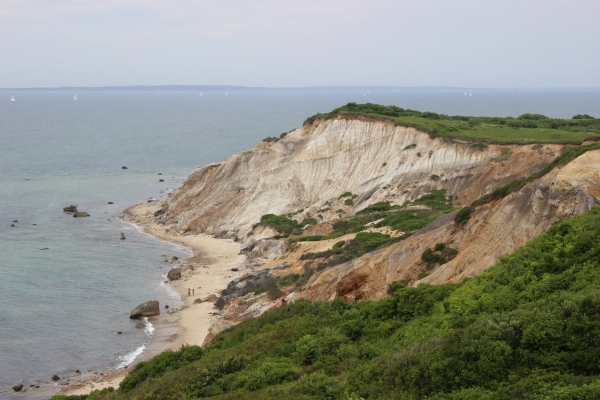Martha's Vineyard Aquinnah Cliffs