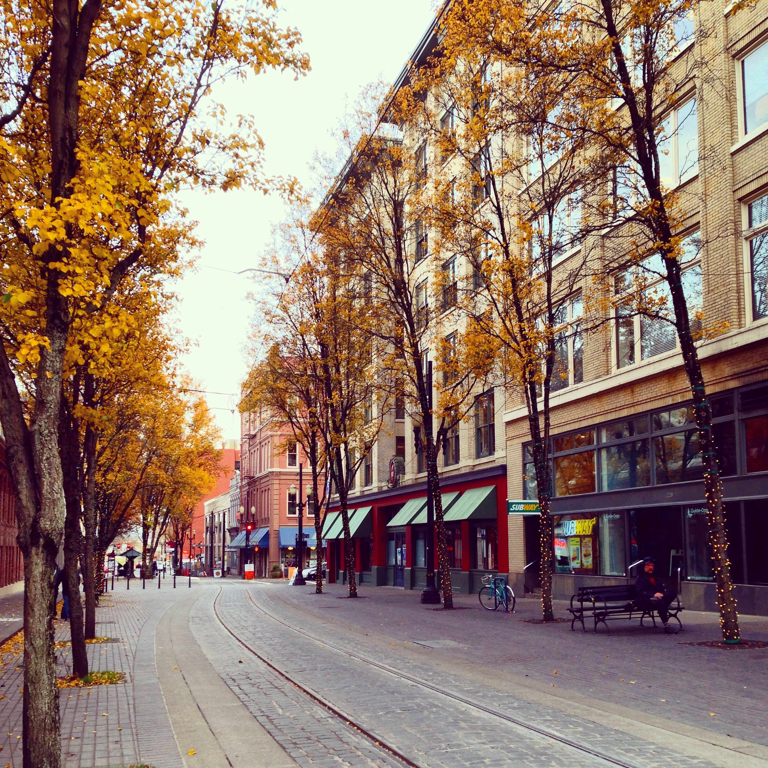 Image result for empty streets of portland, ore